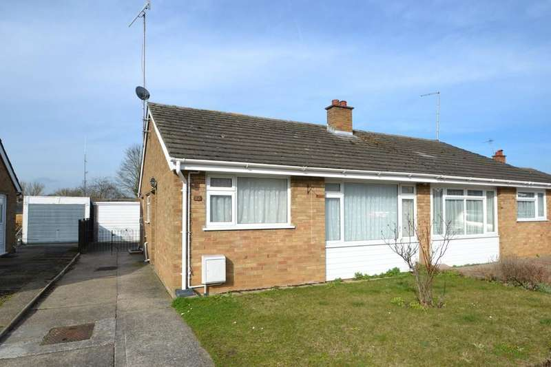 2 Bedrooms Semi Detached Bungalow for sale in Springfield Road, Lower Somersham, IP8 4PQ
