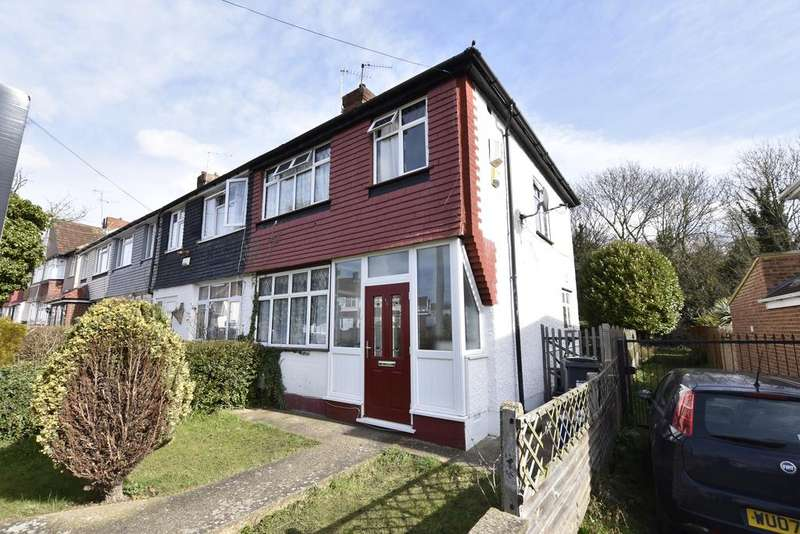 3 Bedrooms End Of Terrace House for sale in Beeston Way, Feltham