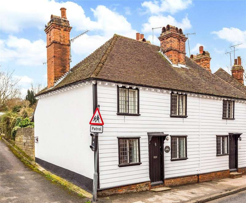 3 Bedrooms Semi Detached House for sale in Elizabeth Cottages, High Street, Eynsford, Kent, DA4
