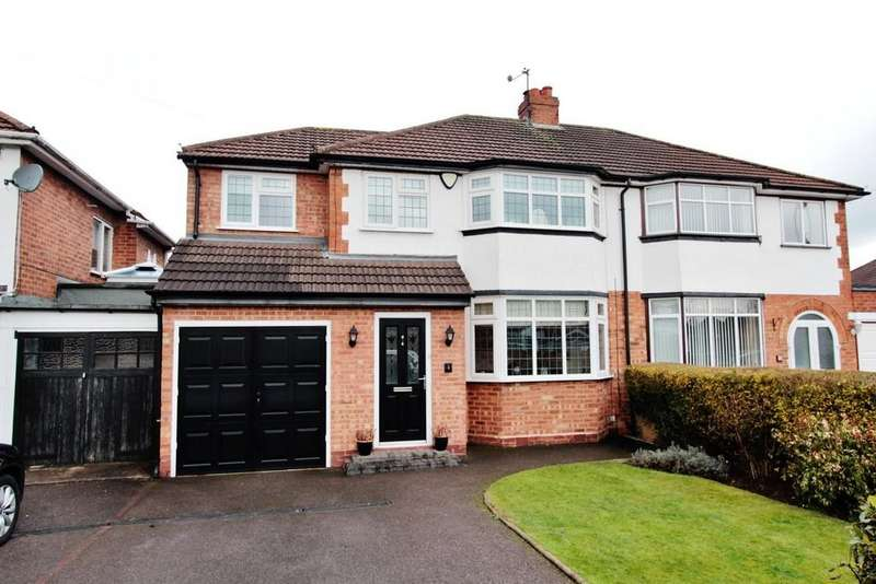 3 Bedrooms Semi Detached House for sale in Yenton Close, Fazeley