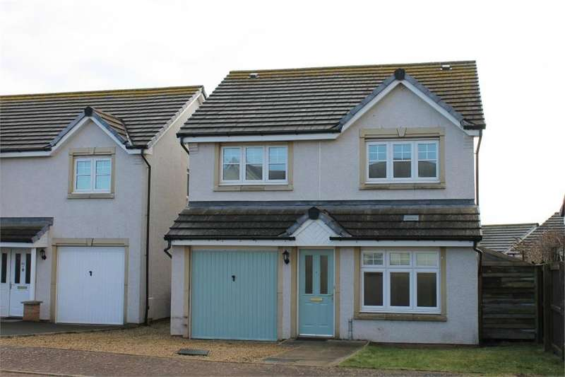 4 Bedrooms Detached House for sale in Hallydown Crescent, EYEMOUTH, Scottish Borders