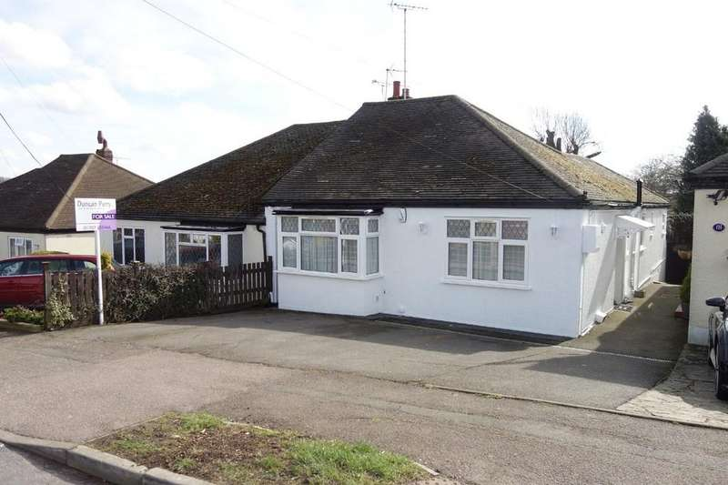 3 Bedrooms Semi Detached Bungalow for sale in Park Avenue, Potters Bar, Herts