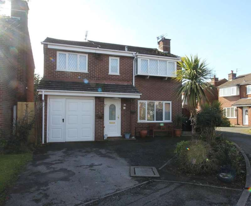 4 Bedrooms Detached House for sale in Kingsley Close