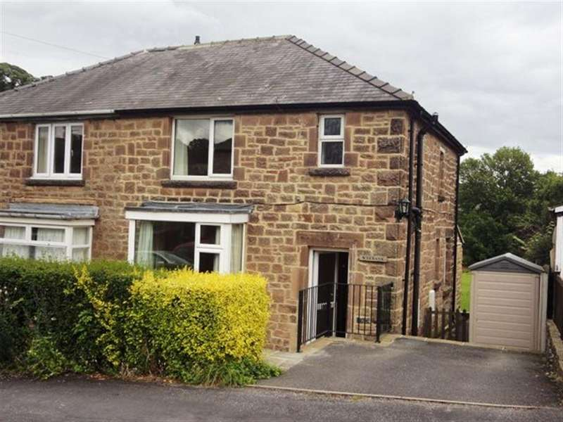 3 Bedrooms Semi Detached House for rent in Wye Bank, Lakeside, Bakewell, DE45 1GN