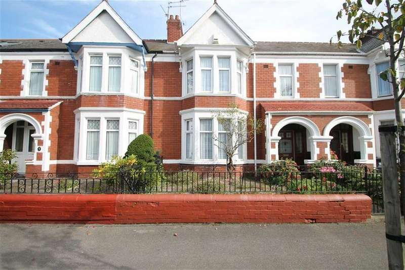 4 Bedrooms Terraced House for sale in Southminster Road, Cardiff