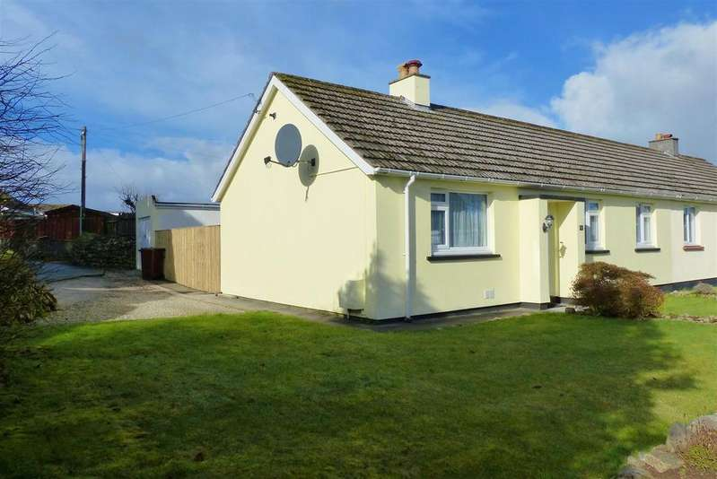 3 Bedrooms Semi Detached Bungalow for sale in Trethern Close, Troon