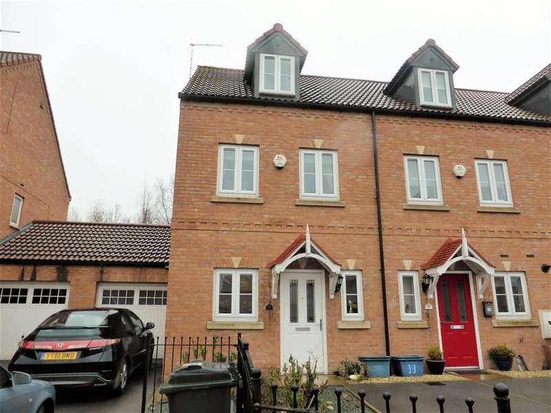 3 Bedrooms Town House for sale in Goldfinch Court, Wath-upon-Dearne, Rotherham, S63 6FJ