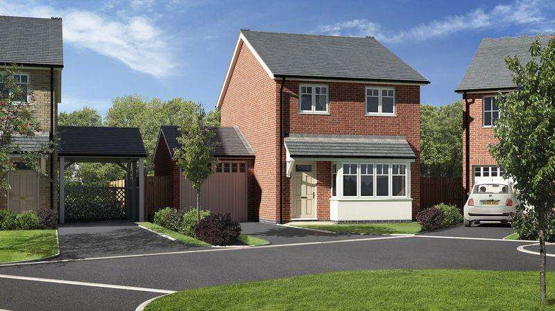 3 Bedrooms Detached House for sale in Plot 17, Meadow Dale, Barley Meadows, Llanymynech