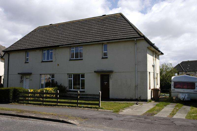 2 Bedrooms Semi Detached House for rent in Outdale Avenue, Prestwick, South Ayrshire, KA9 1BY
