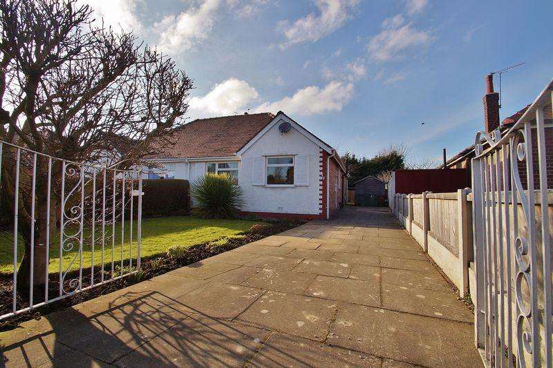 2 Bedrooms Semi Detached Bungalow for sale in Holmdale Avenue, Southport