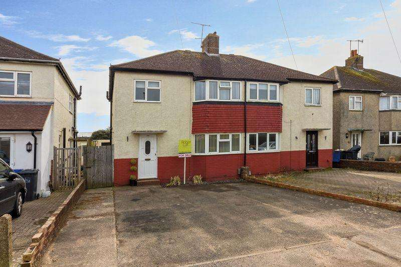 3 Bedrooms Semi Detached House for sale in Tower Road, Lancing