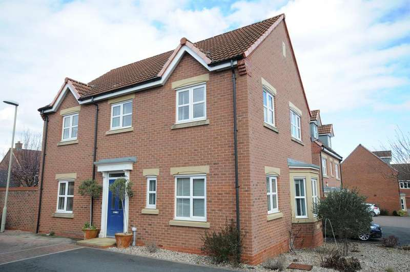 4 Bedrooms Detached House for sale in Uxbridge Lane Kingsway, Quedgeley, Gloucester, GL2 2EY