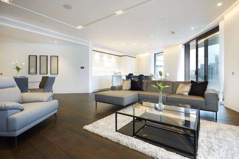 3 Bedrooms Apartment Flat for rent in Millbank, London, SW1P
