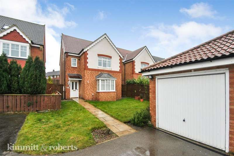 4 Bedrooms Detached House for sale in Harwood Drive, Mulberry Park, Houghton le Spring, DH4