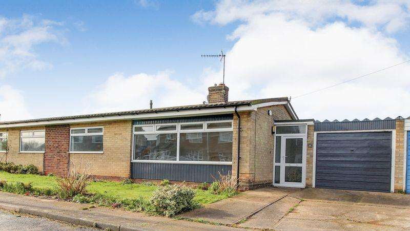 3 Bedrooms Semi Detached Bungalow for sale in Saskatoon Close, Radcliffe-on-Trent, Nottingham