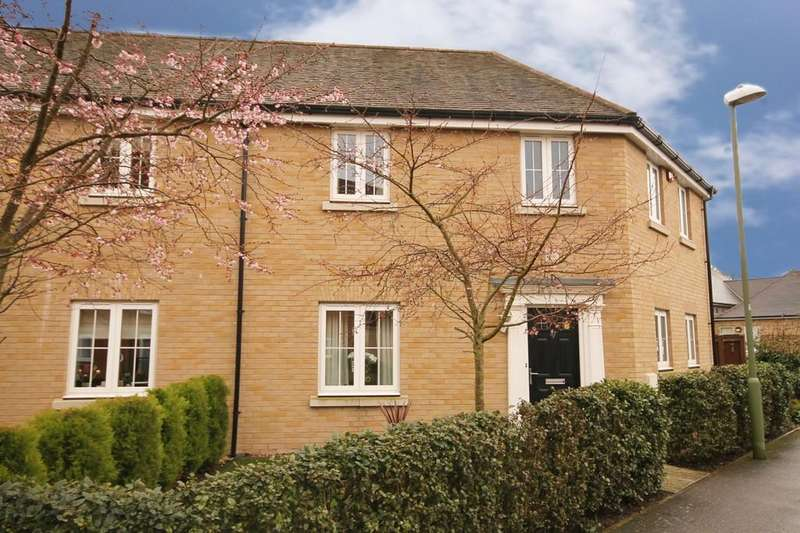 3 Bedrooms Semi Detached House for sale in Sanville Gardens, Stanstead Abbotts, Ware