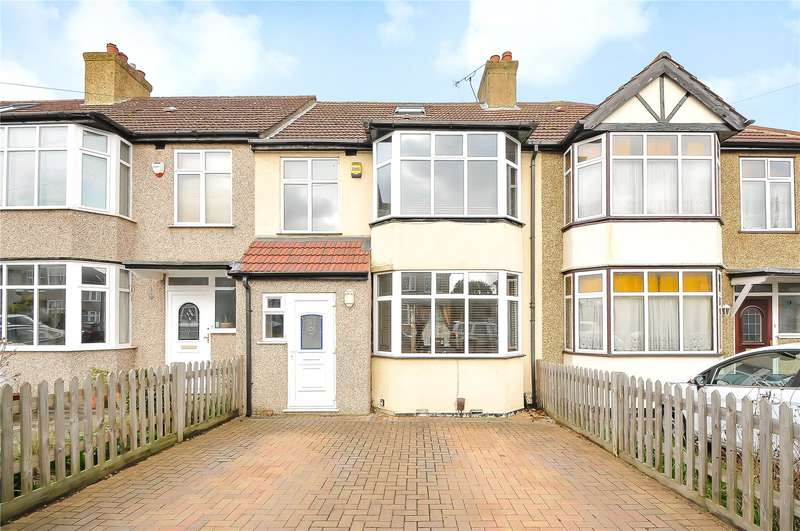 4 Bedrooms Terraced House for sale in Denecroft Crescent, Hillingdon, Middlesex, UB10