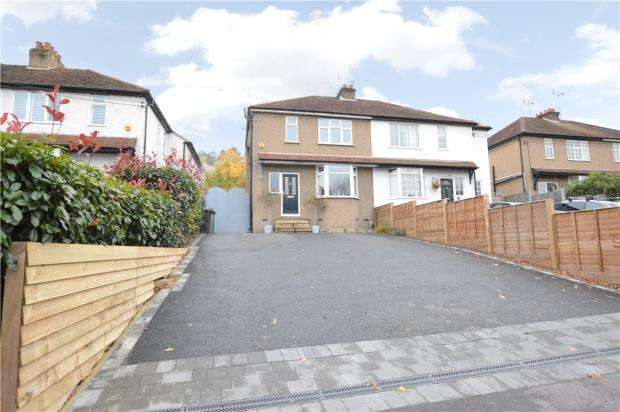3 Bedrooms Semi Detached House for sale in Boundary Road, Wooburn Green, Buckinghamshire