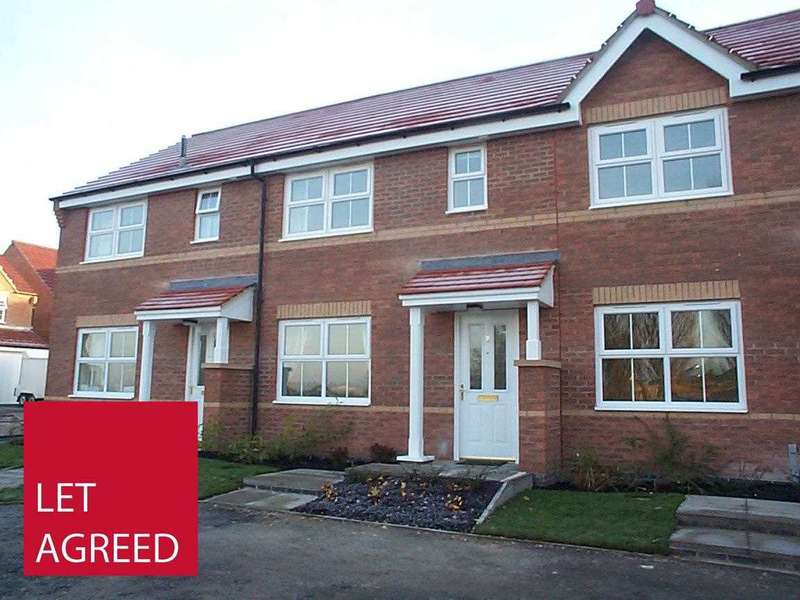 3 Bedrooms Terraced House for rent in 2 Gill Close, Market Weighton