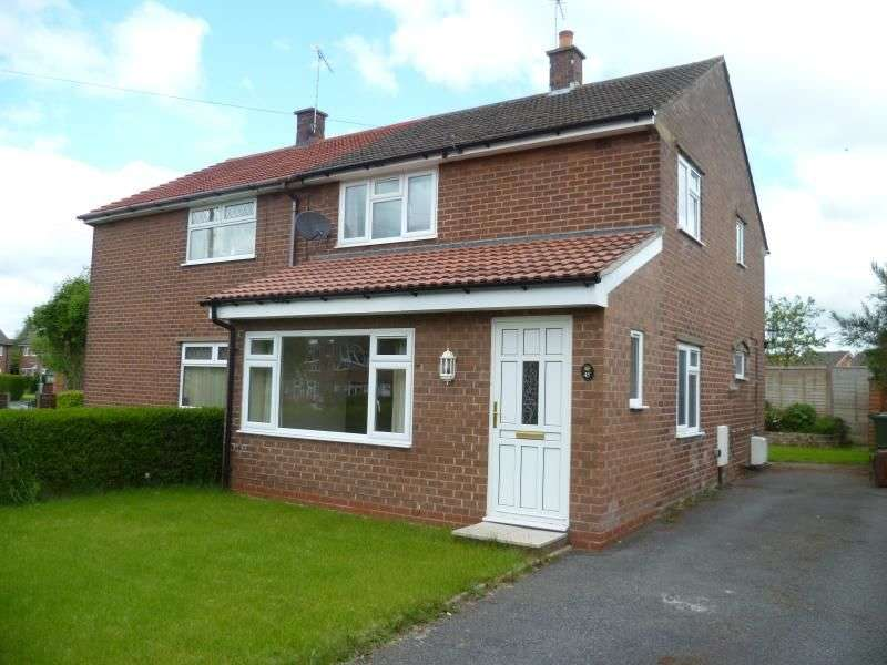 3 Bedrooms Semi Detached House for rent in Briar Lane, Weaverham, Northwich, CW8