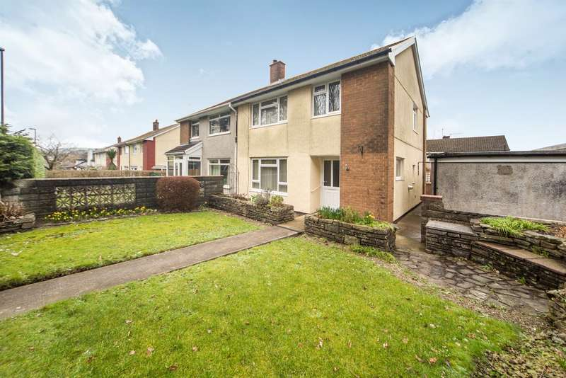 3 Bedrooms Semi Detached House for sale in Lon Y Llyn, Caerphilly