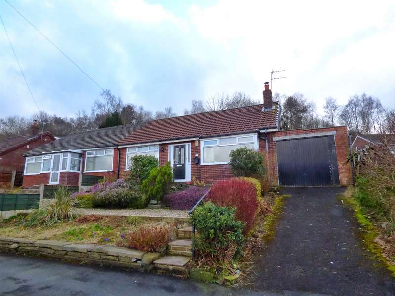 2 Bedrooms Semi Detached Bungalow for sale in Valley New Road, Royton, Oldham, Greater Manchester, OL2
