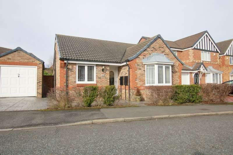 3 Bedrooms Detached Bungalow for sale in Medlar Close, Houghton Le Spring, DH4
