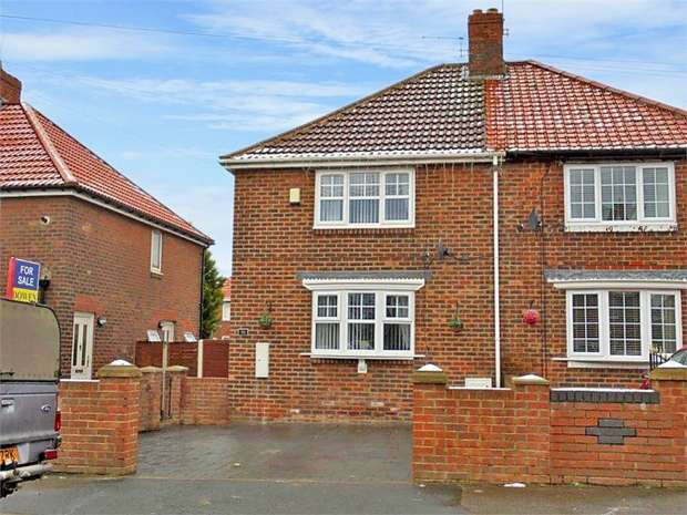 3 Bedrooms Semi Detached House for sale in William Morris Terrace, Shotton Colliery, Durham