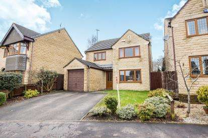 4 Bedrooms Detached House for sale in Whitley Drive, Halifax, West Yorkshire