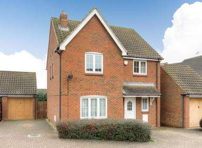 4 Bedrooms Detached House for sale in The Rickyard, Marston Moretaine, Bedford, Bedfordshire