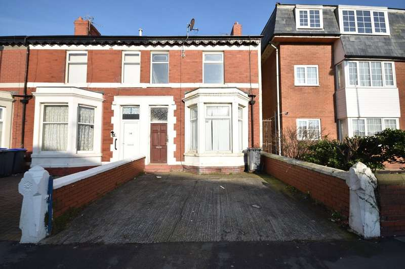 2 Bedrooms End Of Terrace House for sale in Egerton Road, Blackpool