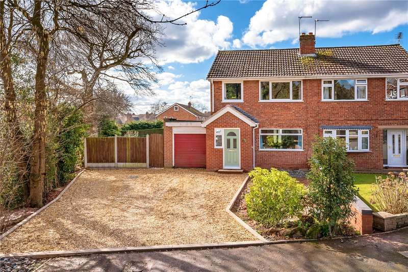 3 Bedrooms Semi Detached House for sale in 22 Abdon Close, Highley, Bridgnorth, Shropshire, WV16