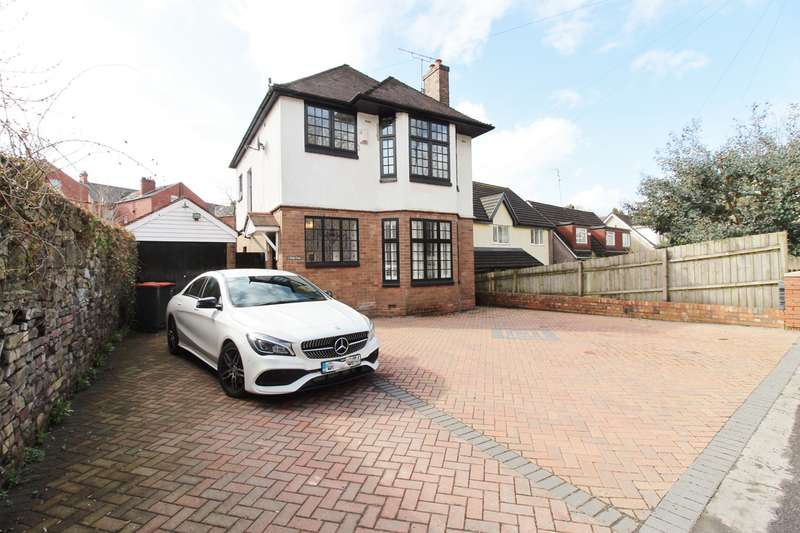 3 Bedrooms Detached House for sale in Allt-Yr-Yn Avenue, Newport, NP20