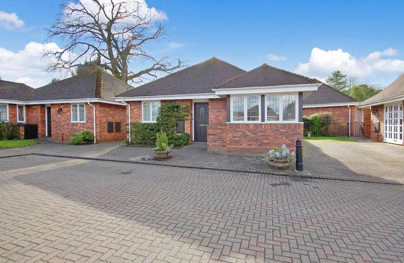 2 Bedrooms Detached Bungalow for sale in The Beeches, Hanover Court, Tettenhall, Wolverhampton WV6