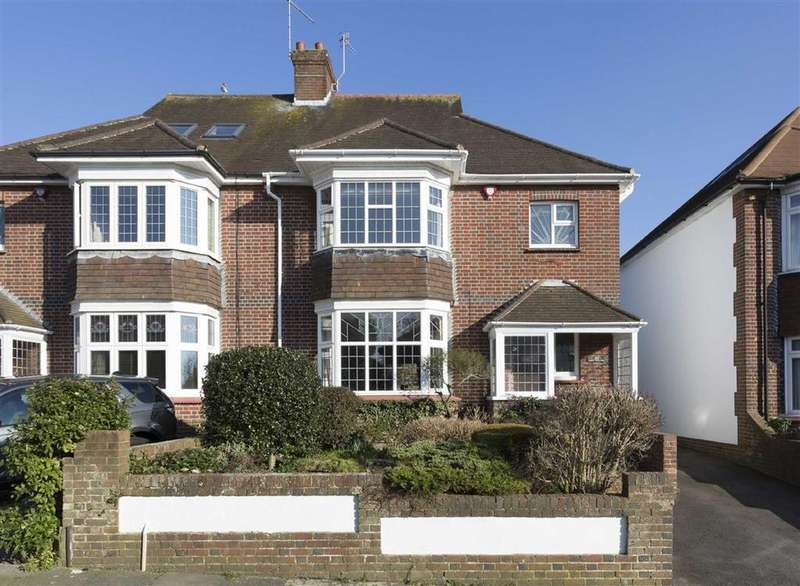 3 Bedrooms Semi Detached House for sale in Hove Park Way, Hove