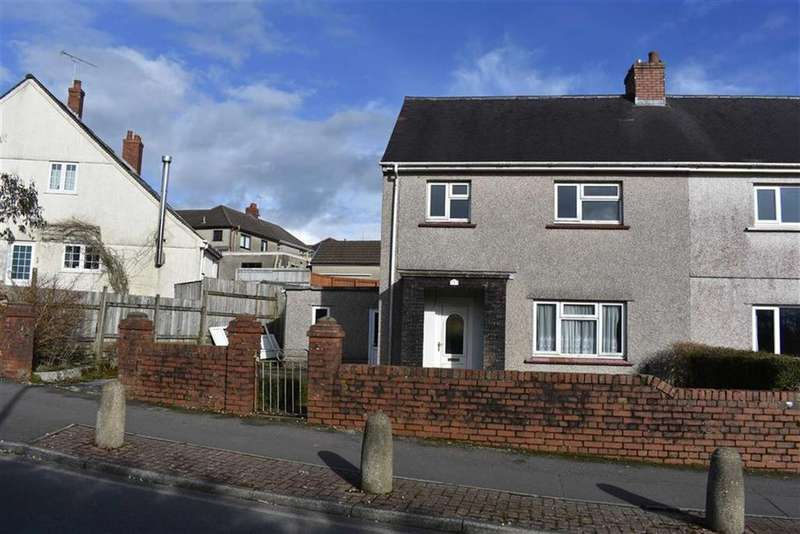 3 Bedrooms Semi Detached House for sale in Priors Crescent, Swansea, SA2