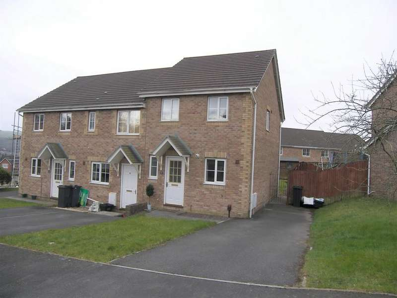 2 Bedrooms Semi Detached House for sale in Dol Werdd, Neath