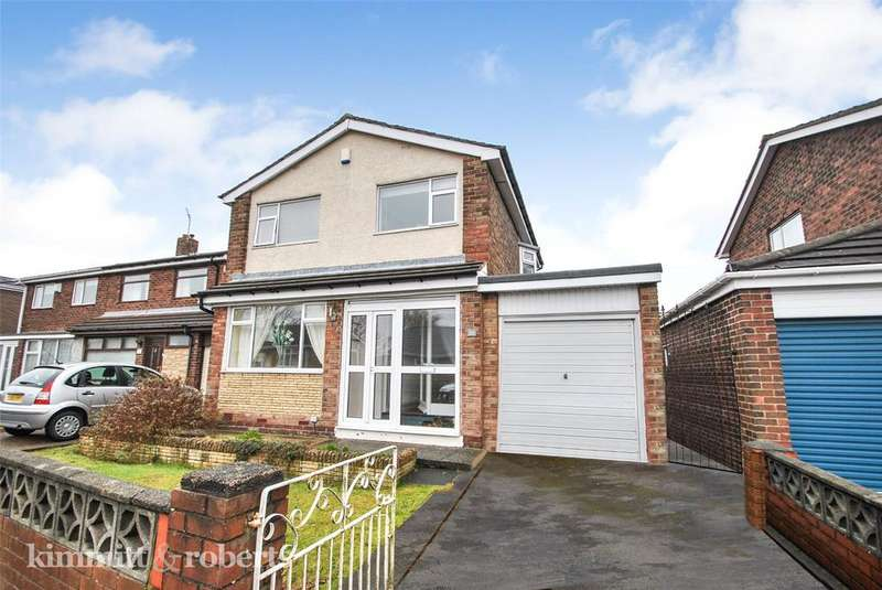 3 Bedrooms Detached House for sale in Whitefield Crescent, Penshaw, Tyne and Wear, DH4