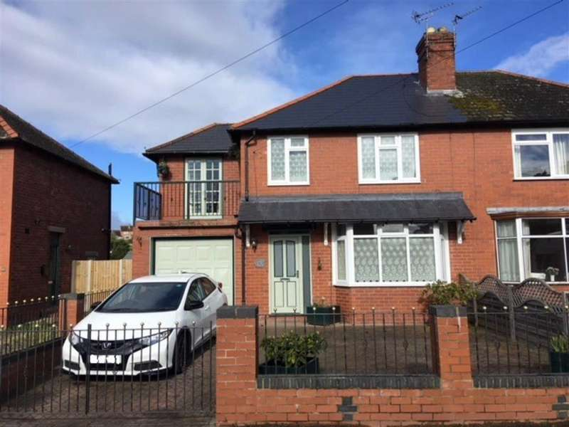 4 Bedrooms Semi Detached House for sale in Meole Walk, Meole Village, Shrewsbury