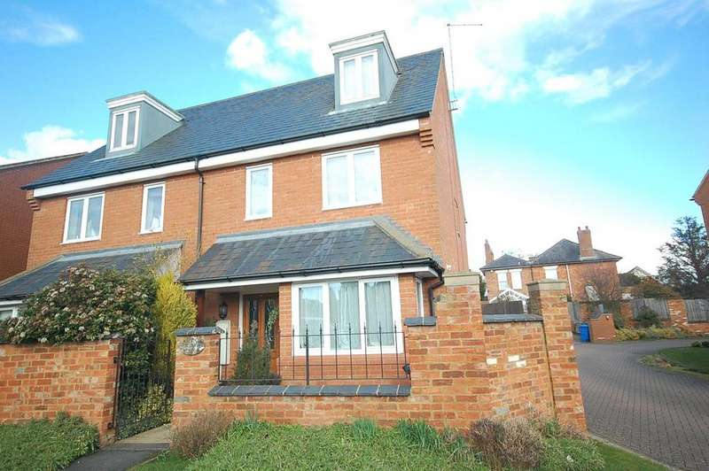 3 Bedrooms Semi Detached House for sale in Evison Road, Rothwell, Kettering