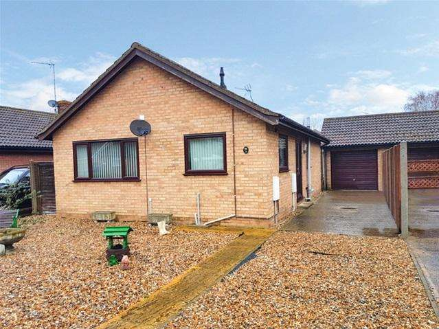 2 Bedrooms Detached Bungalow for sale in Mulberry Close, Mildenhall