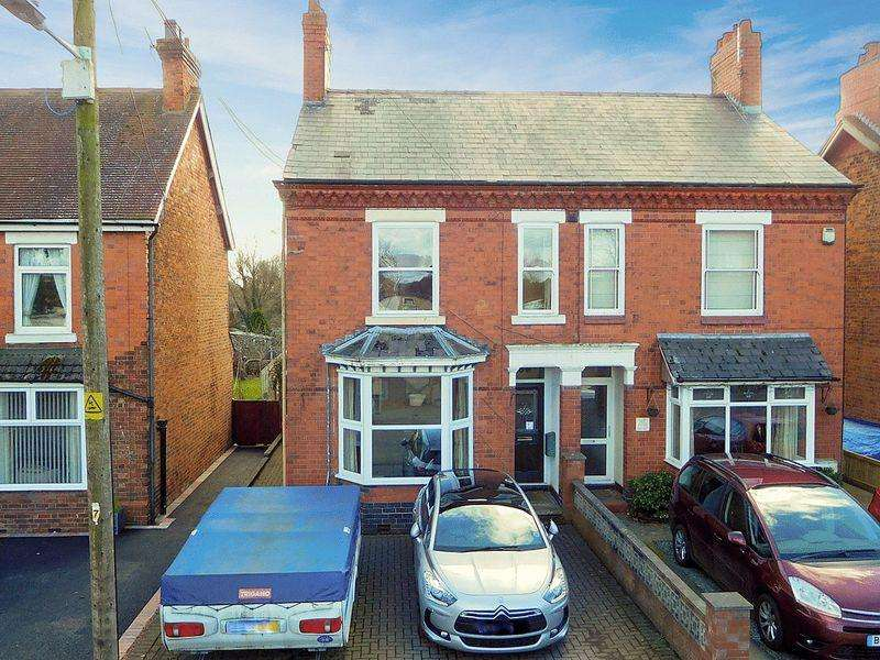 3 Bedrooms Semi Detached House for sale in Park Road, Willaston, Nantwich