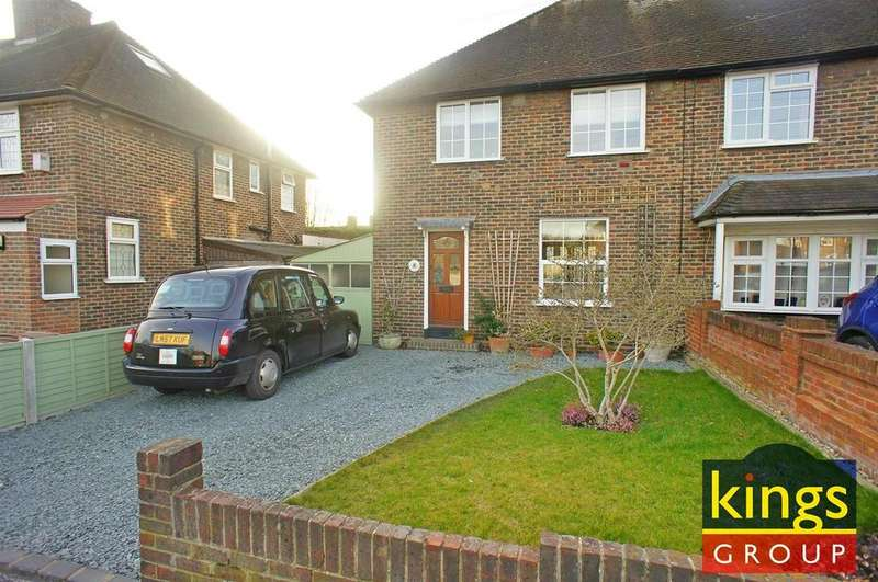 3 Bedrooms Semi Detached House for sale in Friday Hill West, London