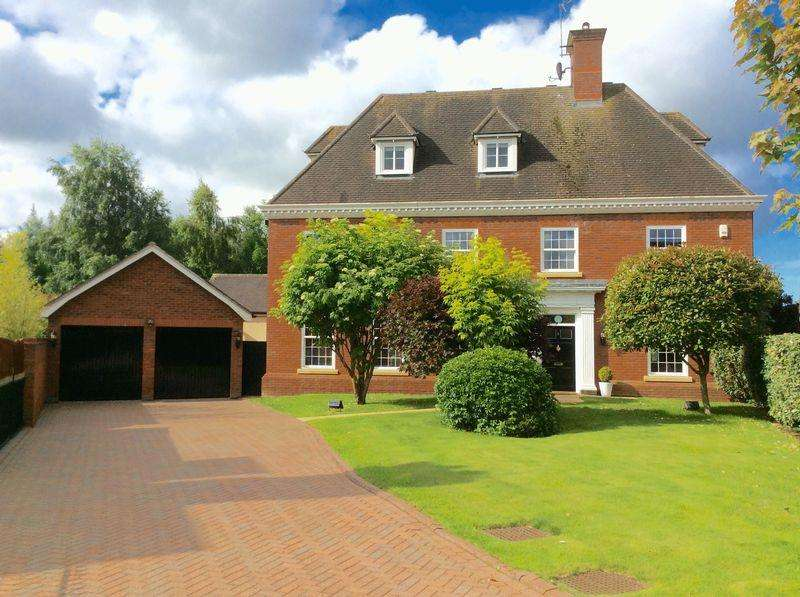 5 Bedrooms Detached House for sale in Edenbridge Close, Wychwood Park, Weston