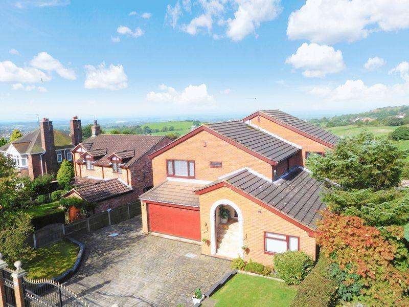4 Bedrooms Detached House for sale in Harriseahead Lane, Harriseahead