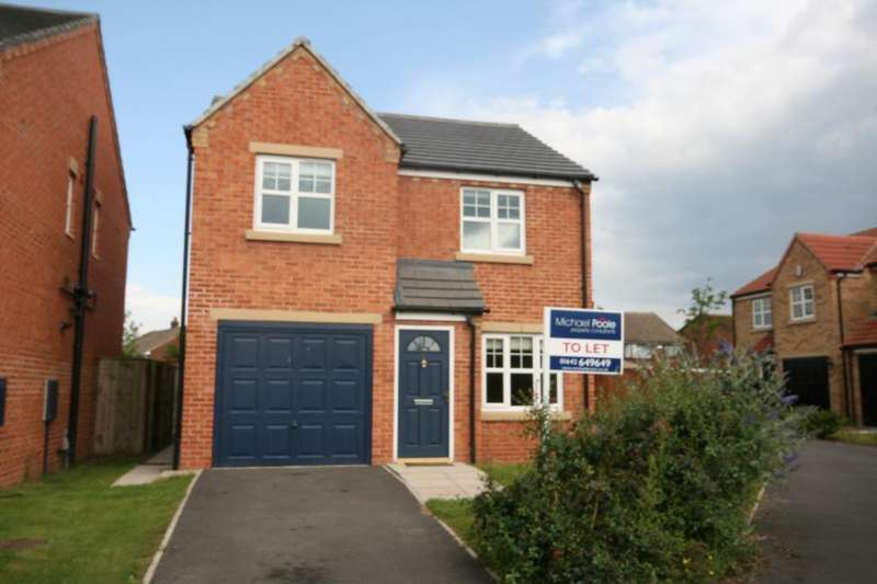 3 Bedrooms Detached House for rent in Hunters Green, Eaglescliffe