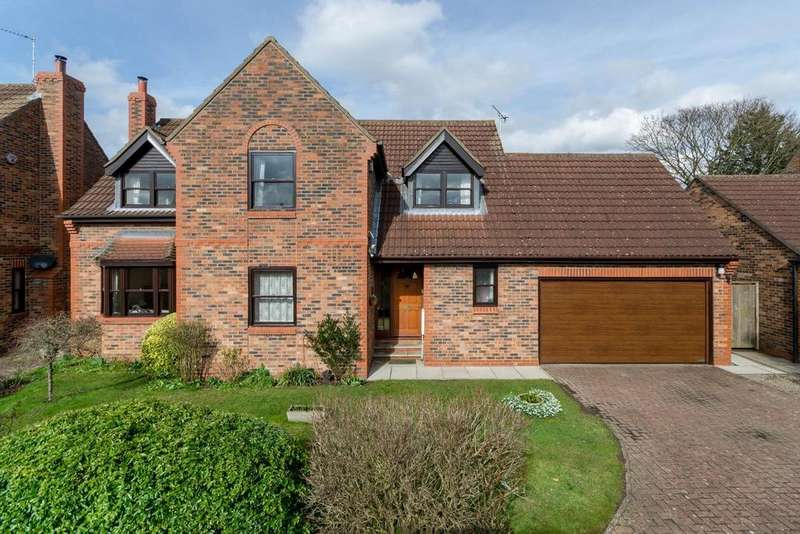 4 Bedrooms Detached House for sale in Woodyard Court, Easingwold, York