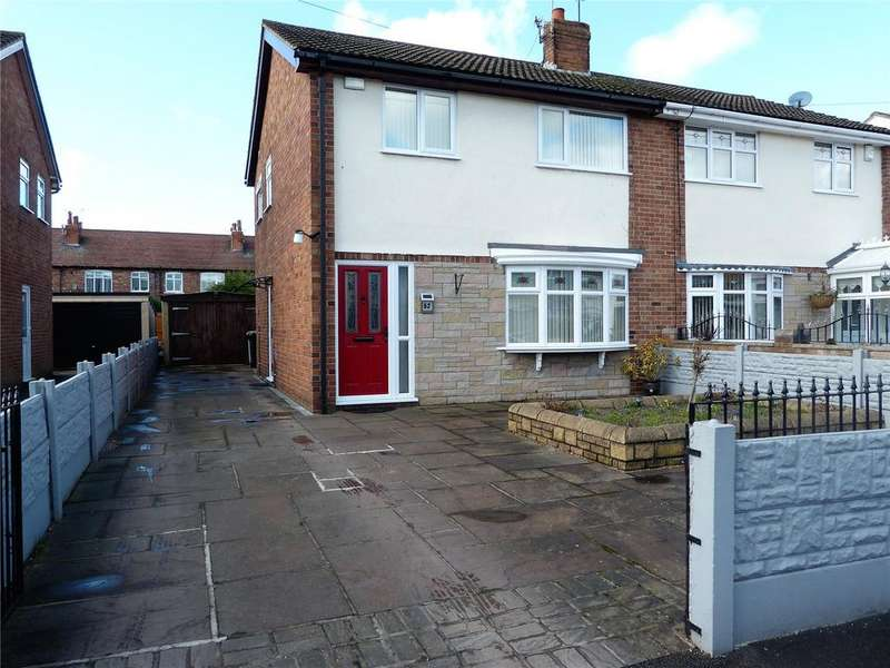 3 Bedrooms Semi Detached House for sale in Monks Lane, Crewe, Cheshire, CW1