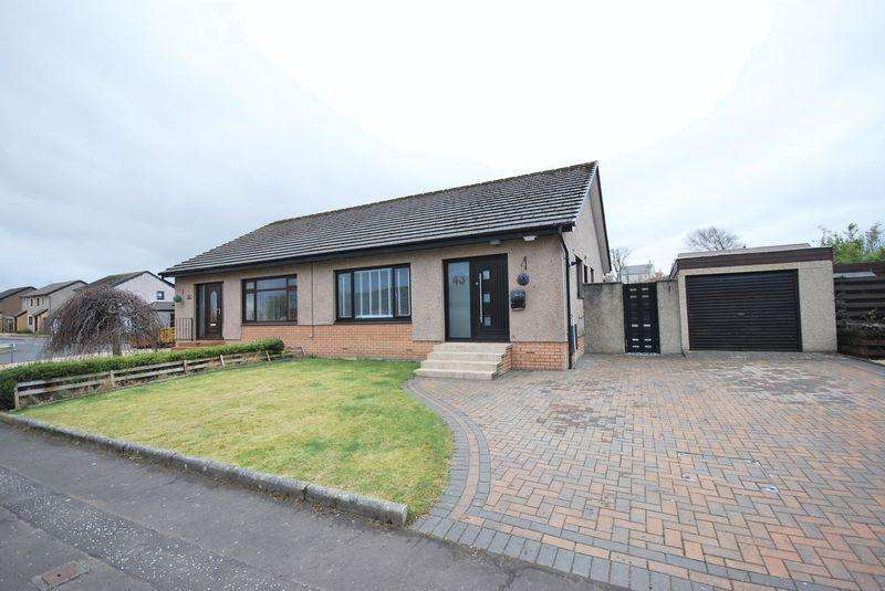 2 Bedrooms Semi Detached Bungalow for sale in 43 Abbots Way, Doonfoot, Ayr, KA7 4JH