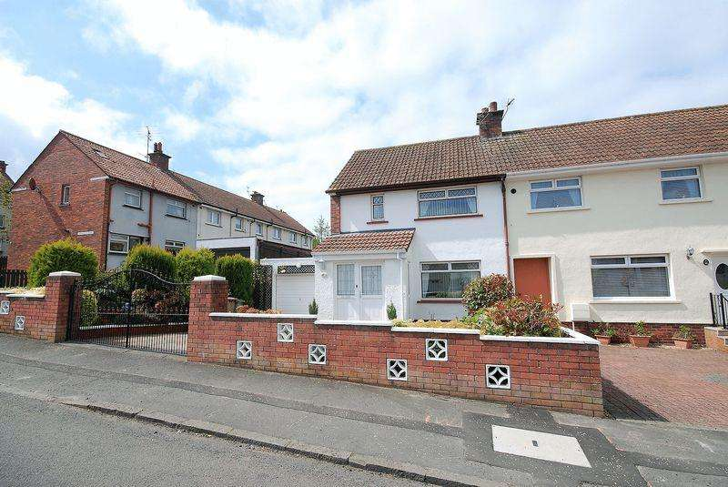 2 Bedrooms End Of Terrace House for sale in 8 Highfield Road, Ayr, KA7 3SF